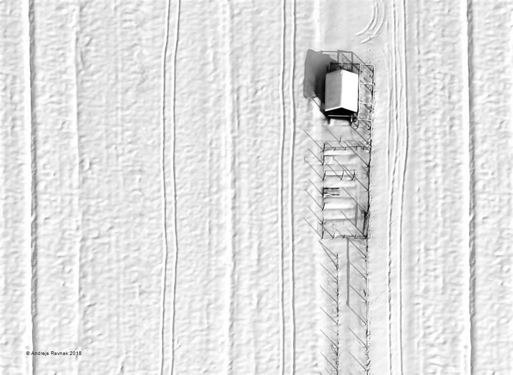 Andreja Ravnak – Snowy Stripes – Photo Travel