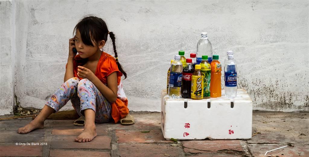 Chris De Blank – Vietnamese Drink Stall – Photo Travel
