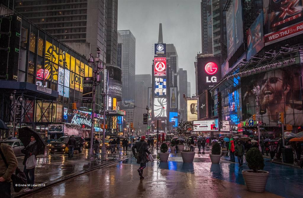 Endre M Lidal – Times Square Nyc – Photo Travel