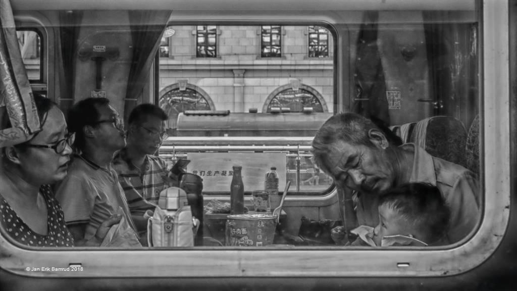 Jan Erik Bamrud – Train Travellers – Photo Travel