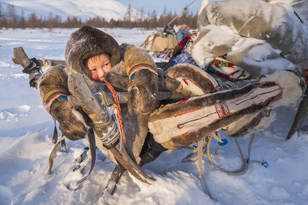 1Jiajun Chai_Nenets Child8_NSFF Gold medal_PPSA_Projected Digital Images Photo Travel