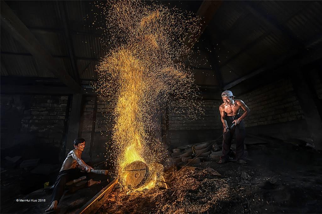 Mei-Hui Kuo – Burnt Copper – Open Colour