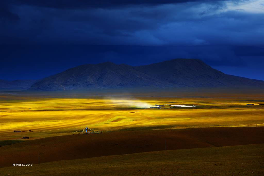 Ping Lu – The Scenery of the Northern Tibet – Open Colour
