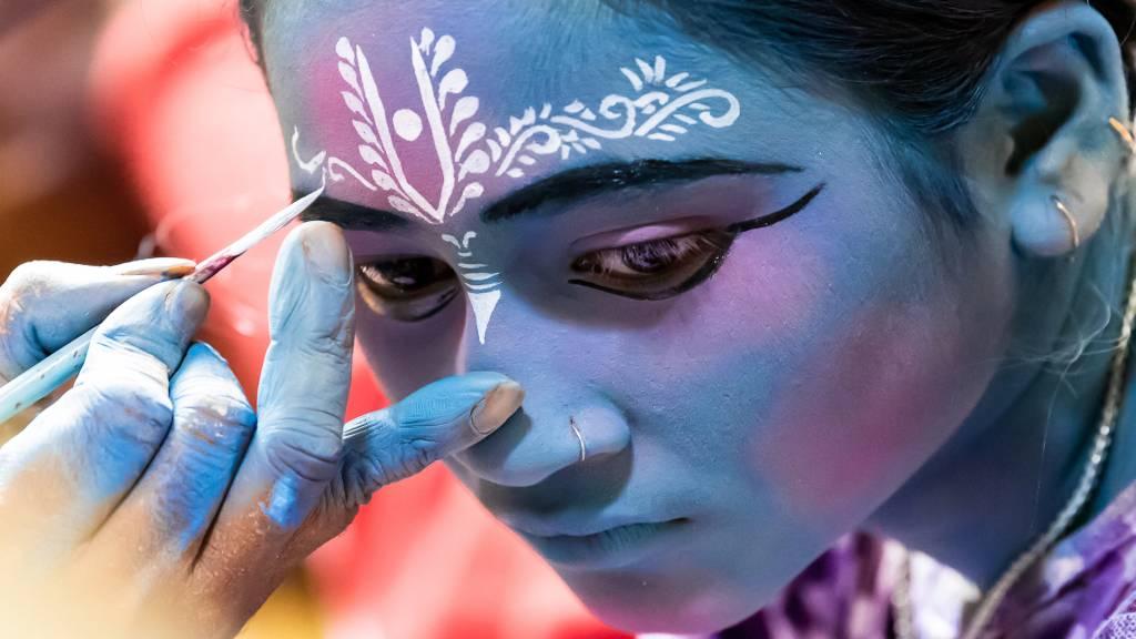 Shourjendra Datta - The Blue Girl - Bekkalokket Photoclub Ribbon