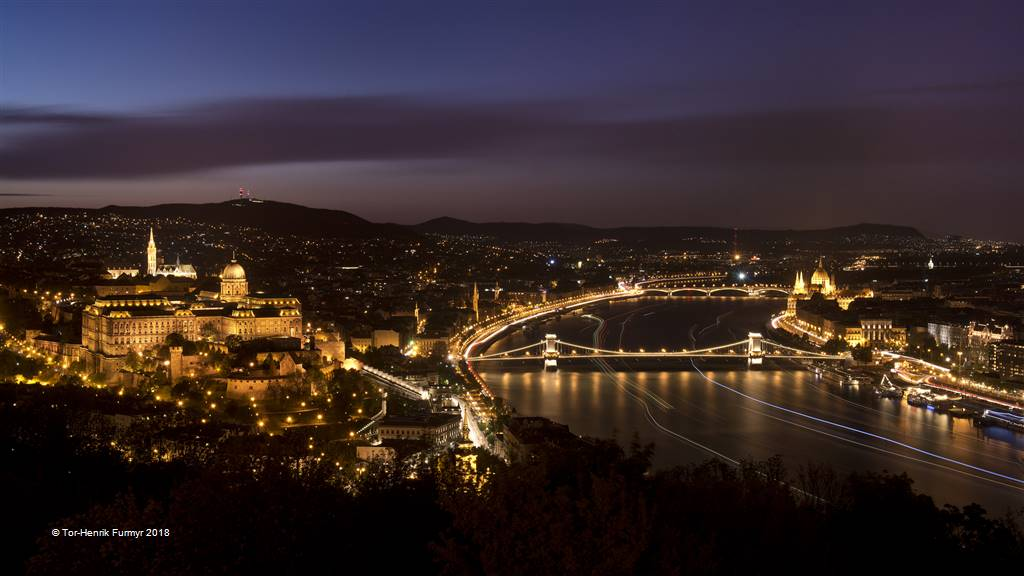 Tor-Henrik Furmyr – Night over Budapest – Photo Travel
