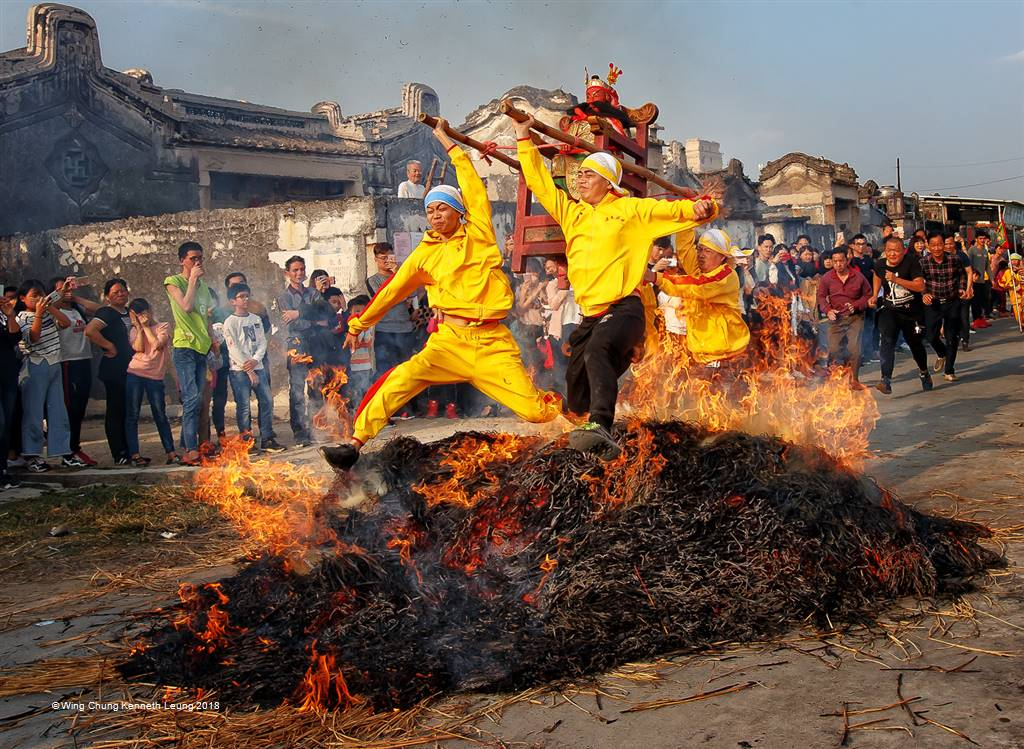 Wing Chung Kenneth Leung – Jump over the Fire – Photo Travel