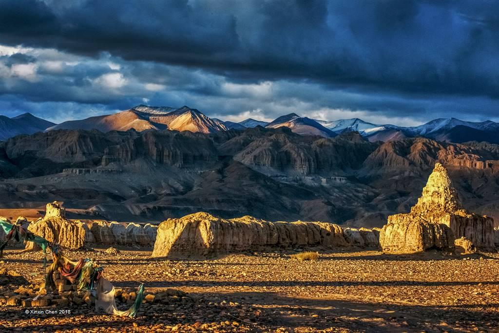 Xinxin Chen – Guge Sunset 2 – Photo Travel