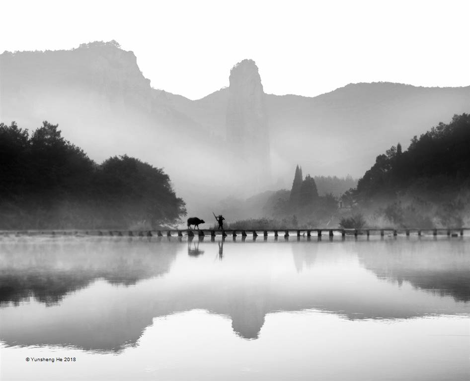 Yunsheng He – C1-Landscape Between Mountains and Rivers – Photo Travel